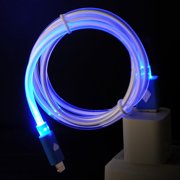 Apple 8-Pin USB Neon Light Cable