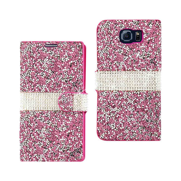 Jewelry Rhinestone Galaxy Wallet Case