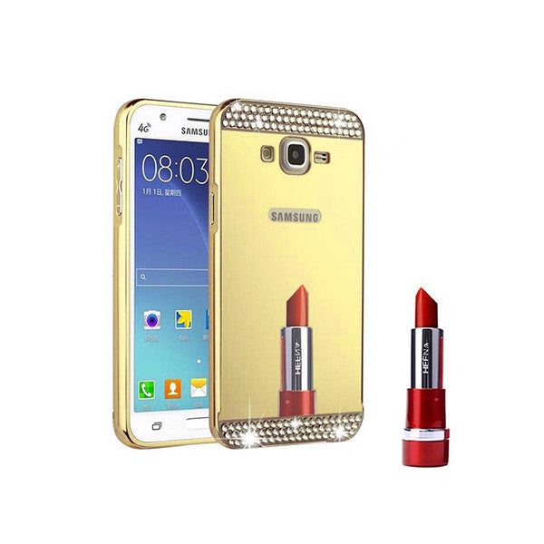 Stylish Rhinestone Mirror Galaxy Case