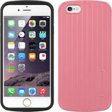 "Apple iPhone 6/6S (4.7"") Fusion Case TPU Embed Erected Strip"