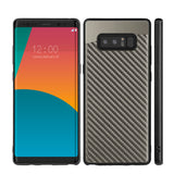 Samsung Galaxy Note 8 Carbon Metallic Fushion Candy Case TPU With Carbon Fiber Finish