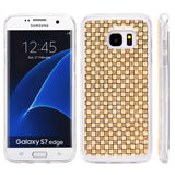 Samsung Galaxy S7 Edge Crystal Skin Case W/  Icy Bling Diamonds
