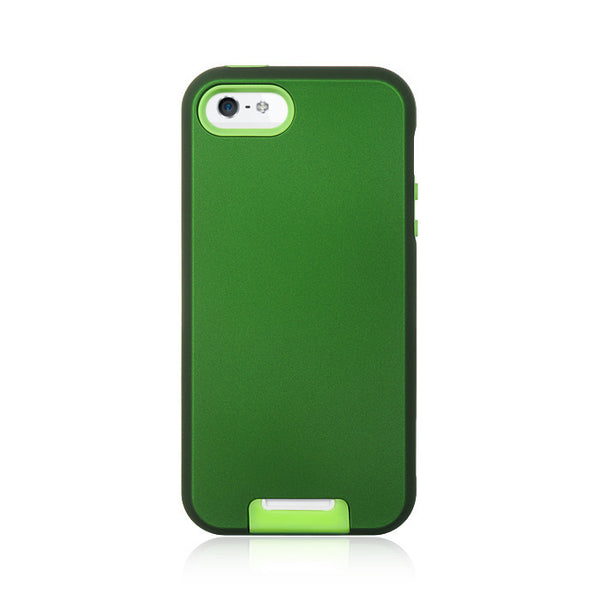 High End iPhone 5/5S Standed   Skin +   Rubber Case