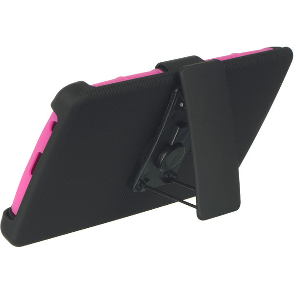 LG G4 Hybrid Case Skin + PC With H Style Stand