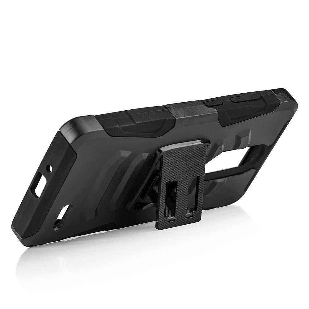 ZTE Grand X4 Hybrid Case Skin + PC With H Style Stand