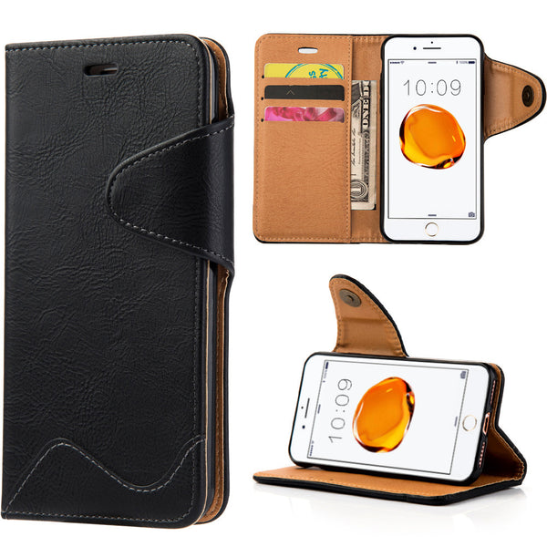 Executive Luxury Leather iPhone Wallet Case