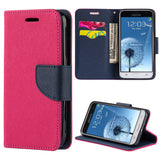 Samsung Galaxy Amp Prime J3 -2016 J320P Diary Wallet