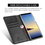 Samsung Galaxy Note 8 Luxury Gentleman Magnetic Flip Leather Wallet Case