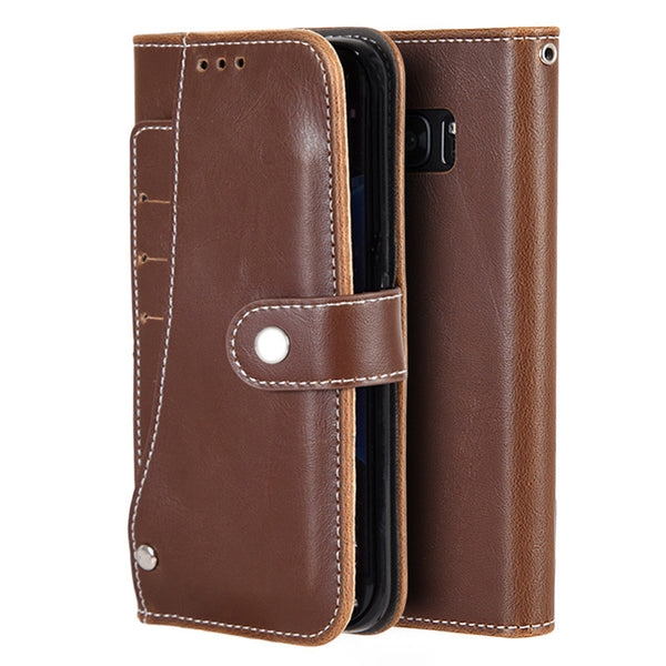 Samsung Galaxy S7 Artisan Leather Wallet Pouch