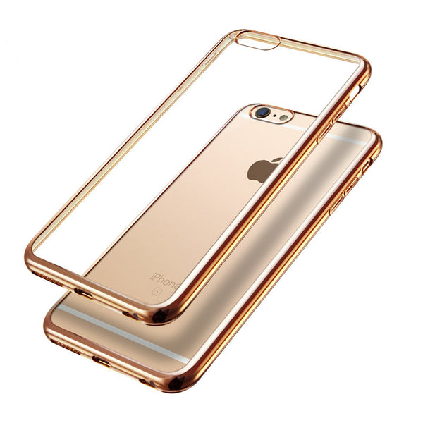 Crystal Clear iPhone Case w/Mirror Bumper
