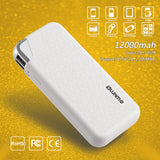 Luxmo Universal 12000 Mah Ultra Boost Series Dual USB Power Bank