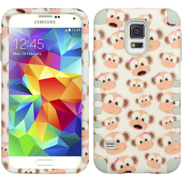 Samsung Galaxy S5 3 Pieces Hybrid Case
