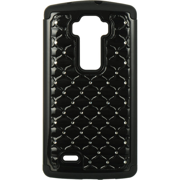 LG G Flex 2 Hybrid Studded Diamond Case