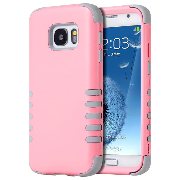 Samsung Galaxy S7 3 Pieces Hybrid Case