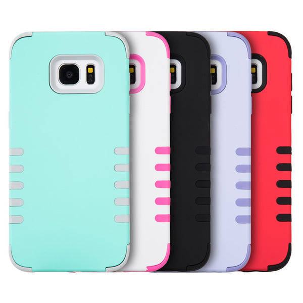Samsung Galaxy S7 Edge 3 Pieces Hybrid Case