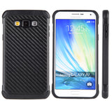 Samsung Galaxy A7 Tough Hybrid Case TPU + PC With Carbon Fiber Finish