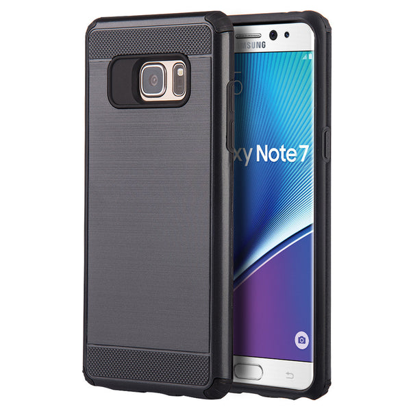Samsung Galaxy Note 7 Silkee Armor Anti Shock Pc + TPU Dual