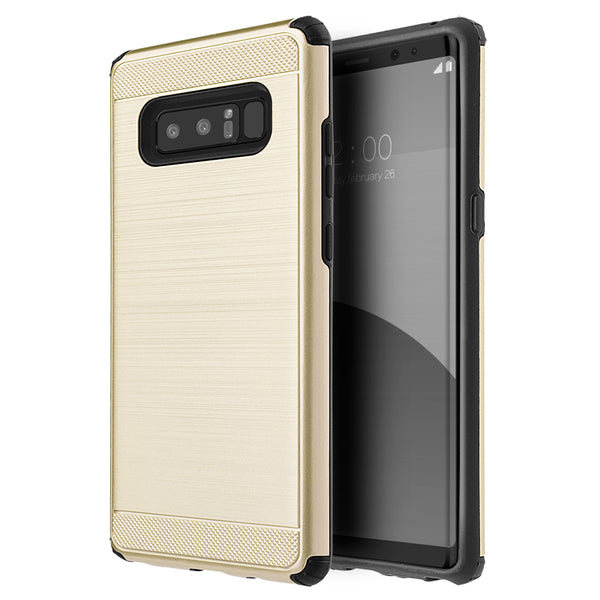 Samsung Galaxy Note 8 Silkee Armor Anti Shock PC + TPU Dual Hybrid Case