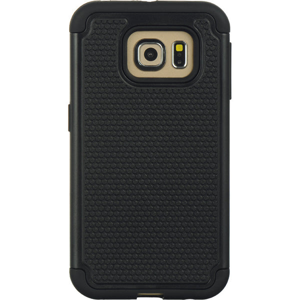 Samsung Galaxy S6 Edge Grippy Hybrid Case