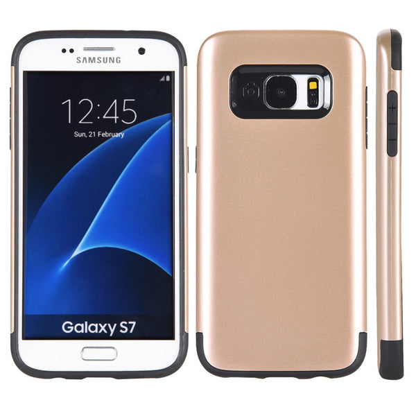 Samsung Galaxy S7 Crash Guard Dual Hybrid Case