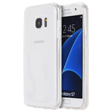 Samsung Galaxy S7 Invisible Bumper Hybird Case Ultra Thin Agua Clear + Clear Inner Frame