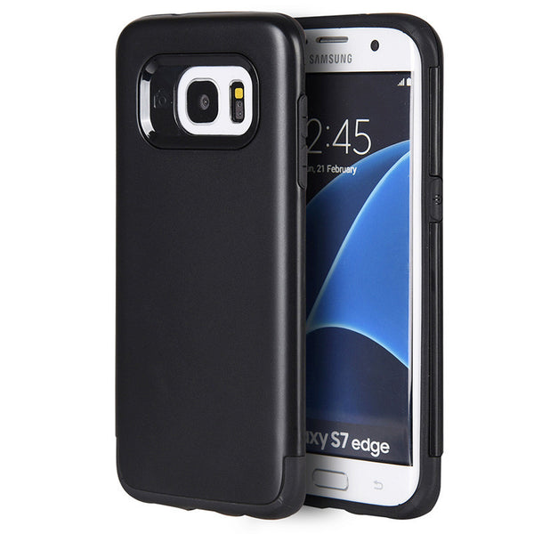 Samsung Galaxy S7 Edge Crash Guard Dual Hybrid Case