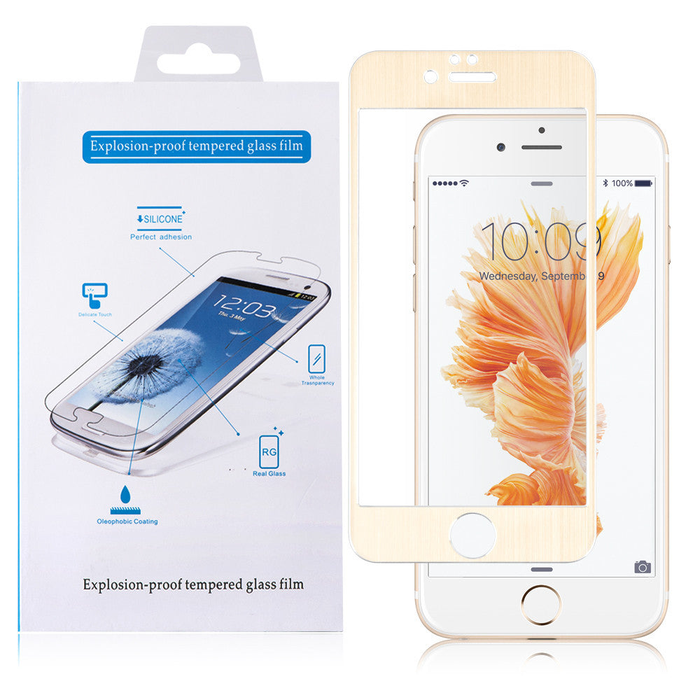 Apple iPhone 6/6S Plus Silk Tempered Glass Screen Protector