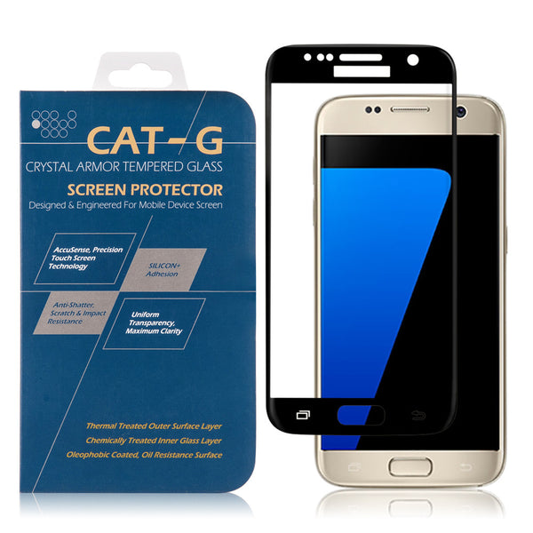 Samsung Galaxy S7 3D Curved Full Cover Tempered Glass