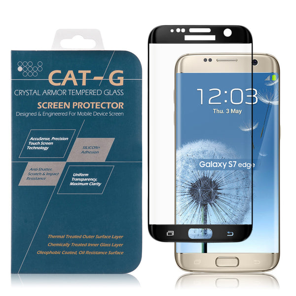 Samsung Galaxy S7 Edge 3D Curved Full Cover Tempered Glass