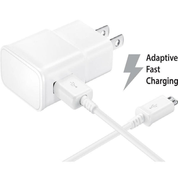 Adaptive Fast Charger w/USB Cable for Samsung Galaxy