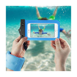Waterproof Case For iPhone 6/ 6S Plus Or 5.5 Inch Devices With Wrist Strap In Blue