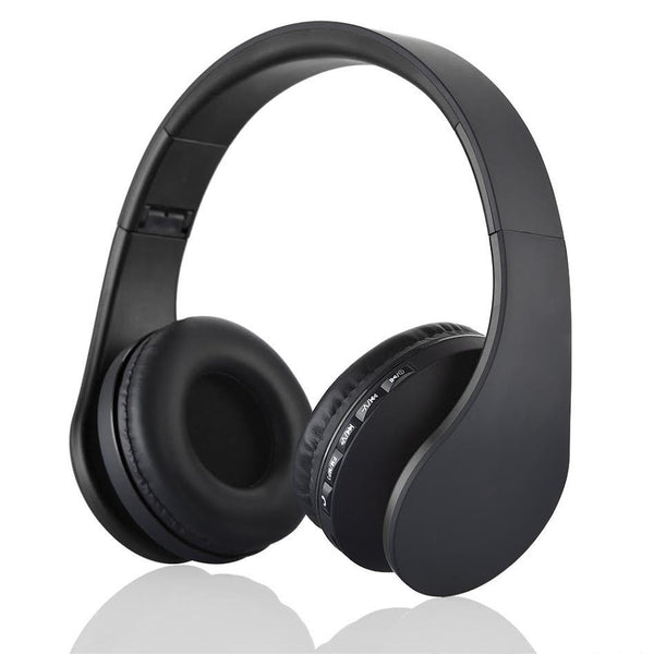 Wireless Noise Canceling Headphones w/Mic