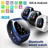 Accessories - M26 Waterproof Smart Bluetooth Watch With Dial SMS Remind Pedometer For Android