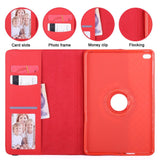 Apple - IPad 360 Rotating Case W/ Card Slot & Photoframe
