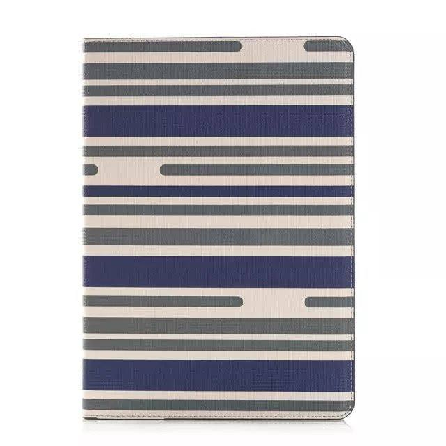 Striped Stand Flip iPad Air Case