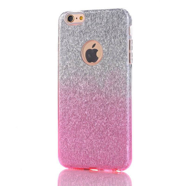 Stylish Gradient Glitter iPhone Case