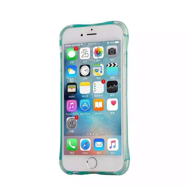 Light Up Silicone Anti-Knock iPhone Case