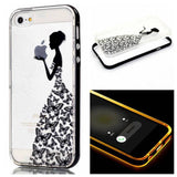 Apple - Lady Butterfly LED Case For IPhone