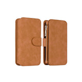 Leather Wallet iPhone Case w/Photoframe