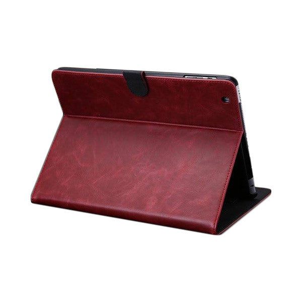 Retro Leather iPad Case w/Stand