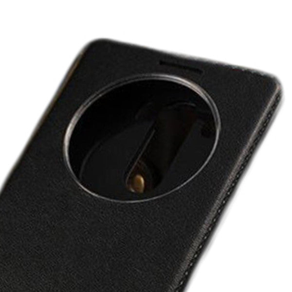 Window View Leather Flip LG Case
