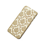 Flower Damask Pattern iPhone Case