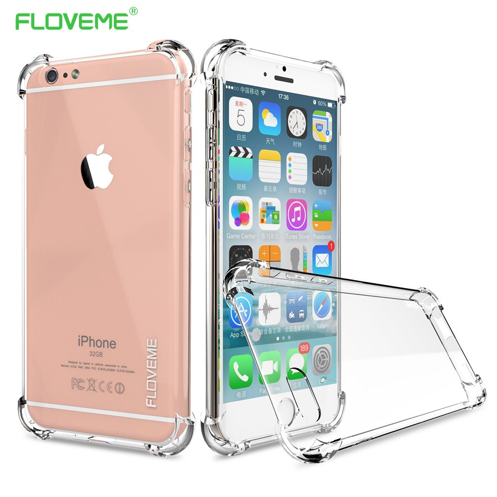 Clear Anti-Knock Drop-Proof iPhone Case