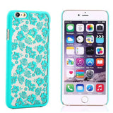 IPhone - IPhone Four-Leaf Clover Pattern Hard Case