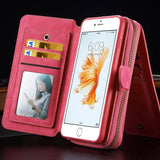 IPhone - IPhone Multifunction Leather Case & Wallet