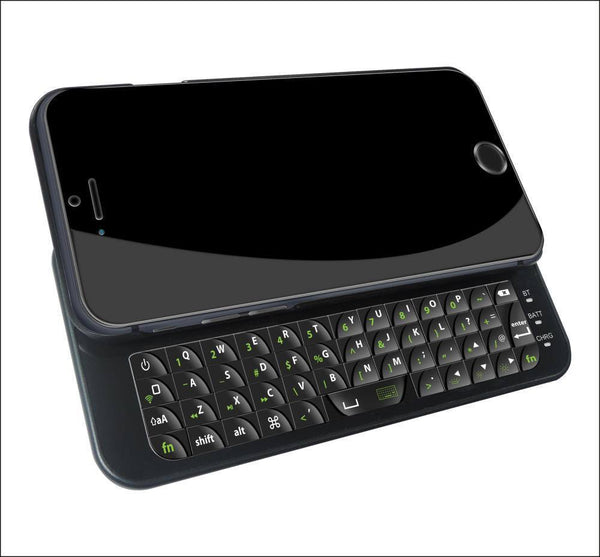 Ultra Slim iPhone Case with Slide Out Keyboard