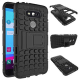 LG - Anti-Slip Hard Silicon Rugged Armor Case For LG G5