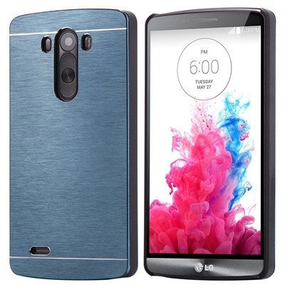 Brushed Aluminum Hard LG Case
