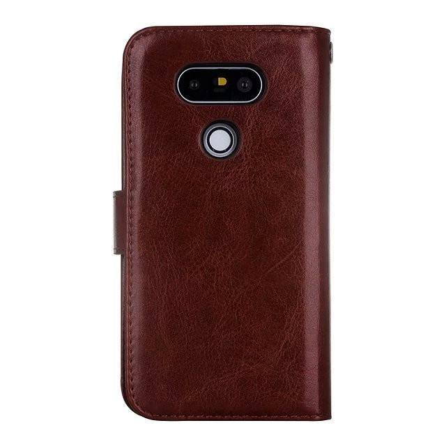 Multi-functional Removable Leather LG Case w/9 Card Slot
