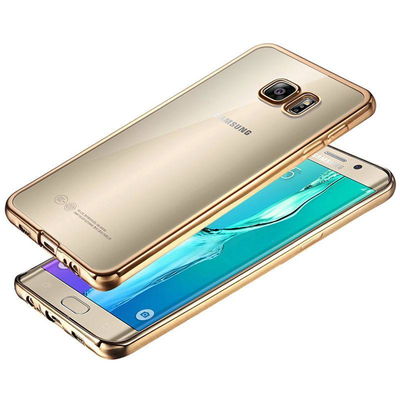 Electroplated Transparent Soft Galaxy Case